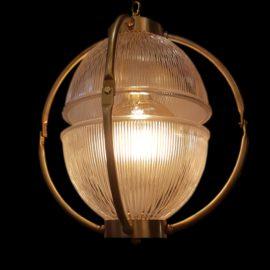 Designer Prismatic Glass Orb Pendant Light