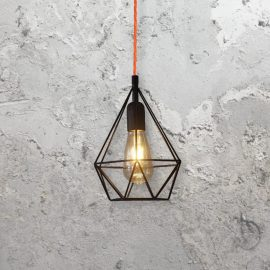 Diamond Cage Pendant Light