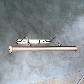 Double Arm Gold Picture Light