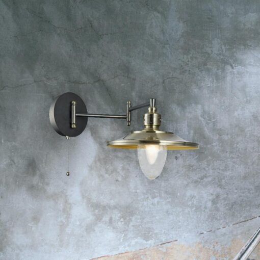 Double Jointed Vintage Wall Light