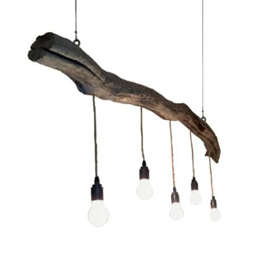 Driftwood Branch Pendant Light