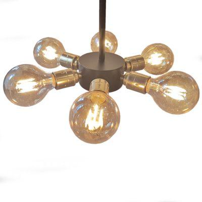 Edison Multi Mini 6 Light Pendant