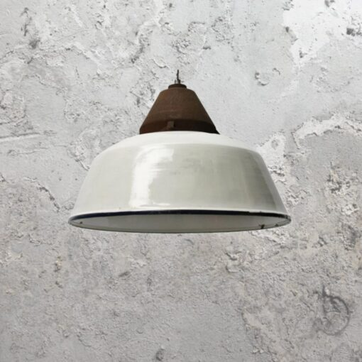 Enamel Pendant Light Shade