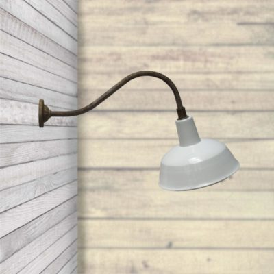 Enamel Wall Light