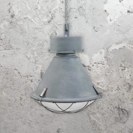 Factory Cage Lamp Pendant Light