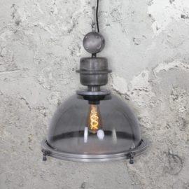 Factory Glass Pendant Light