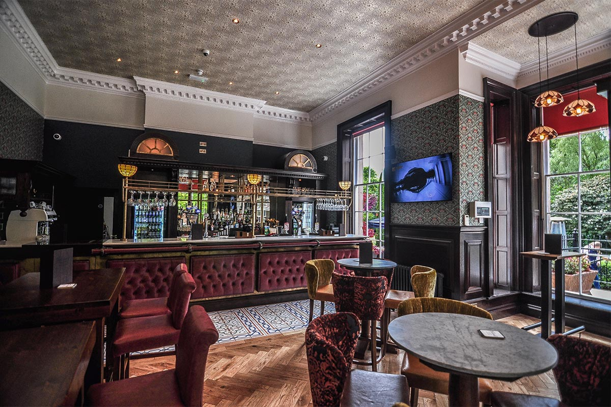 Fletchers sports bar allerton manor golf club e2 contract fletchers sports bar lighting aloadofball Gallery