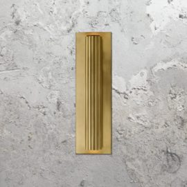 Fluted Cylinder Wall Light