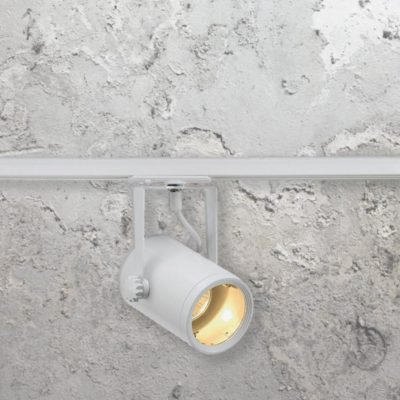 White GU10 Track Spotlight