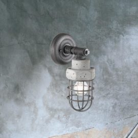 Galvanized Concrete Wall Light