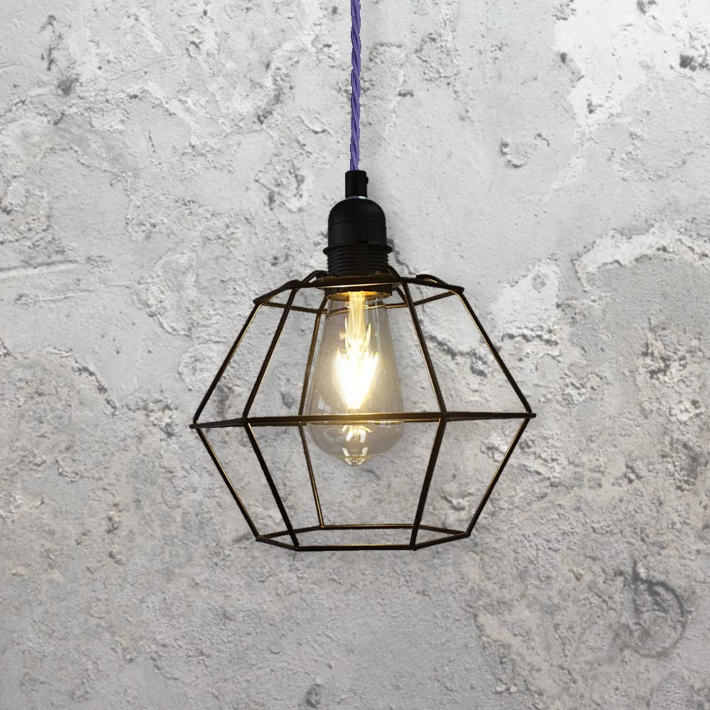 cage lighting. Geometric Cage Pendant Light Lighting