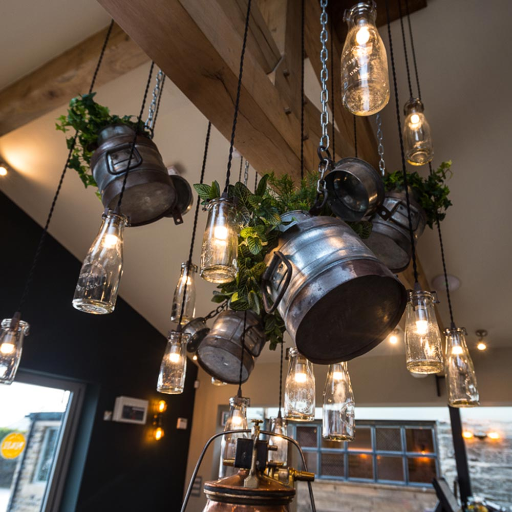 E2 contract lighting bespoke milk bottle pendant lights clb milk bottle pendant lights aloadofball Gallery