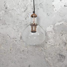 Glass Copper Pendant