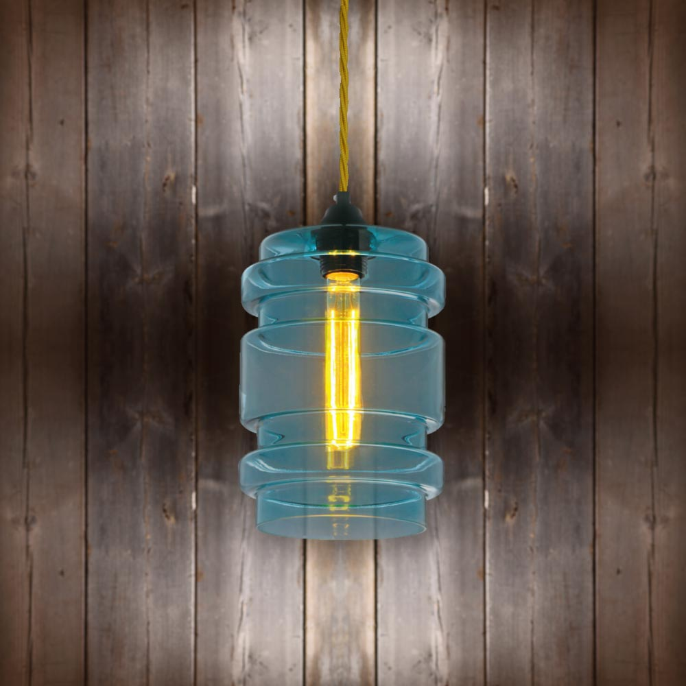 Glass Cylinder Pendant Light E2 Contract Lighting Products Uk