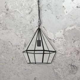 Glass Diamond Pendant Light