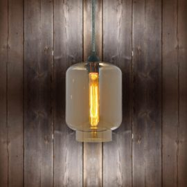 Glass Jug Pendant Light