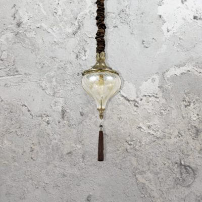 Glass Tassel Pendant Light CL-35510