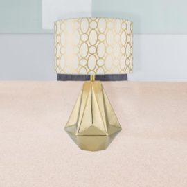 Gold Ceramic Table Lamp
