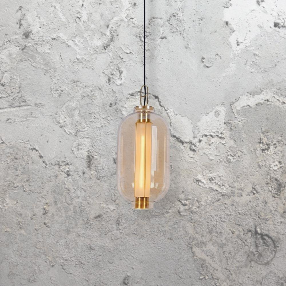 Modern Gold Glass Pendant Light CL 34104