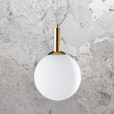 Gold Globe Pendant Light