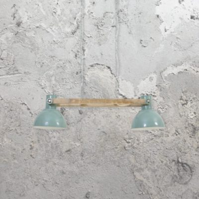 Green Industrial Spotlights Pendant