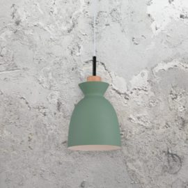 Green Scandinavian Pendant Light