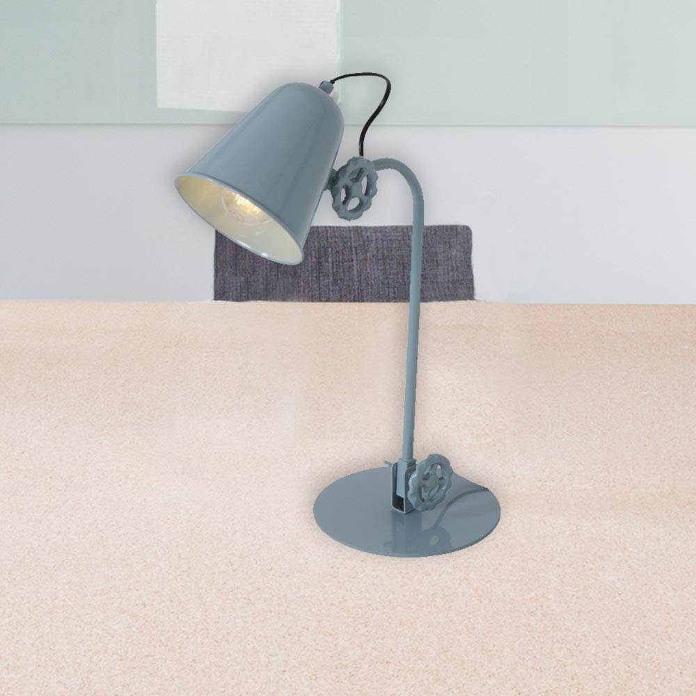 Green vintage table lamp cl 35231 e2 contract lighting uk green vintage table lamp aloadofball Image collections