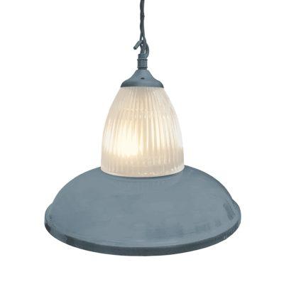 Grey Glass Pendant Light,Industrial Traditional Glass Pendant Light