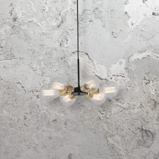 Industrial 6 Light Pendant