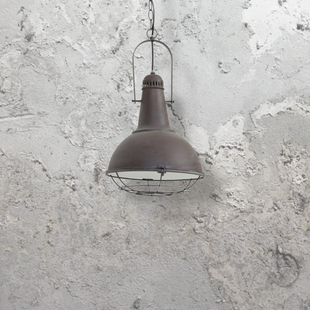 e2 contract lighting products industrial cage pendant cl 29179 uk