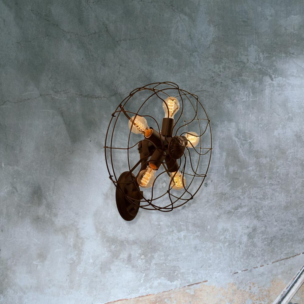 E2 Contract Lighting   Products   Industrial Fan Wall Light CL-27964 ...