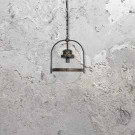 Industrial Globe Pendant Light