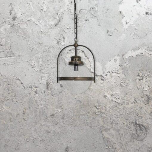 Industrial Globe Pendant Light