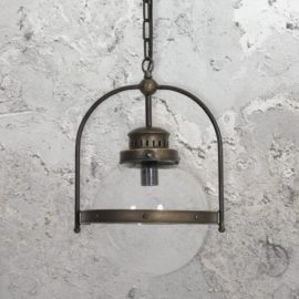 Industrial Globe Pendant Lights
