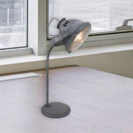 Industrial Headlight Table Lamp