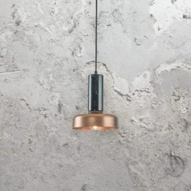 Industrial Marble Pendant Light