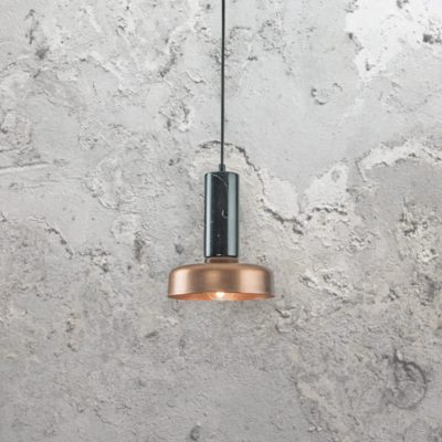 Industrial Marble Pendant Light