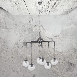 Industrial Pipe Chandelier
