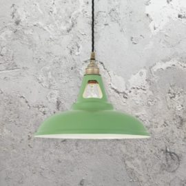Industrial Spun Metal Pendant Light