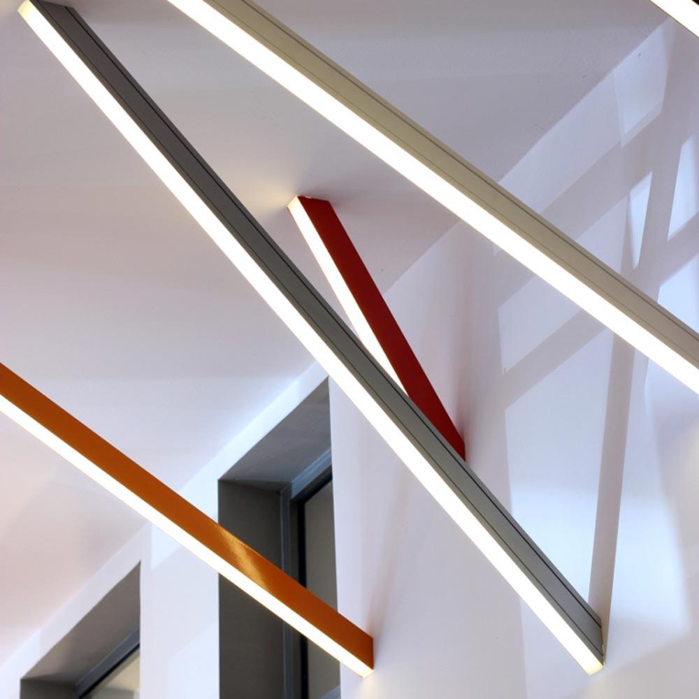 Led Angled Wall Light Clb 00581 E2 Contract Lighting Uk