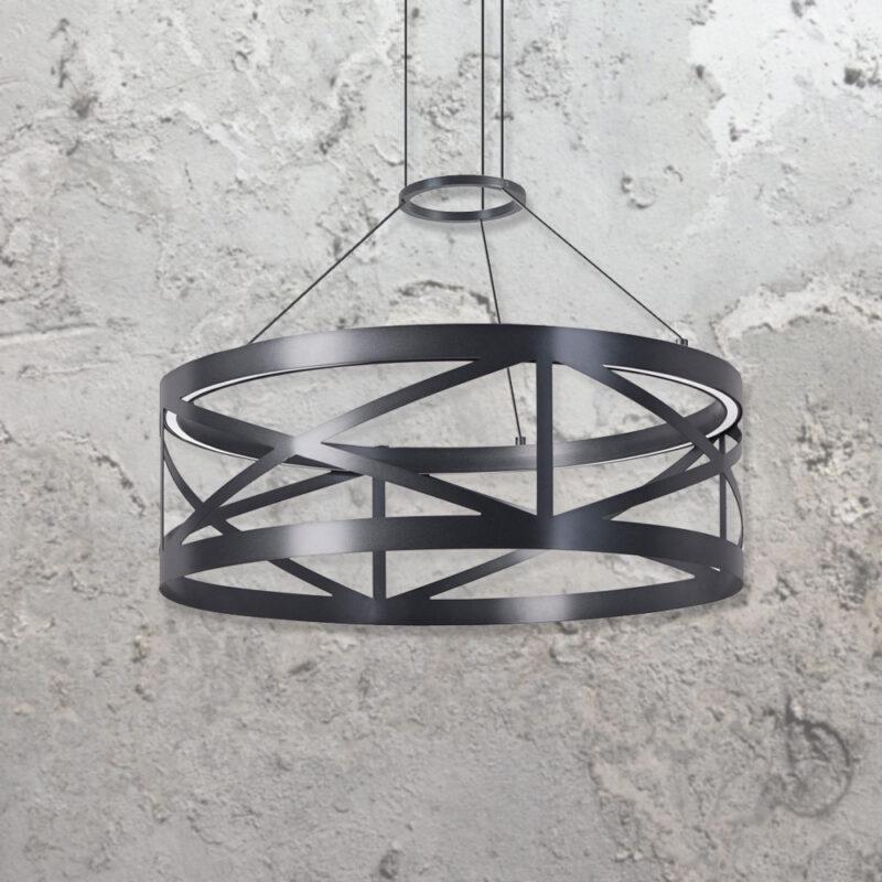 LED Glass Pendant Light