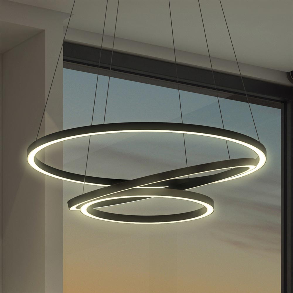 led suspended ring pendant clb 00572 e2 contract. Black Bedroom Furniture Sets. Home Design Ideas