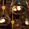 Large Designer Glass Pendant Lights,Large clear glassdesignerpendant light fitting