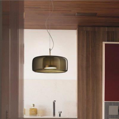 Large Designer Glass Pendant Lights