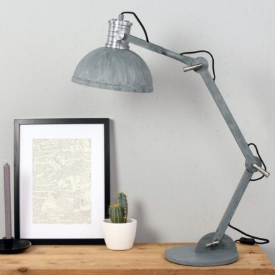 Large Industrial Desk Lamp