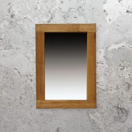 Large Oak Framed Mirror,Wood Wall Mirror,Large Wood Framed Mirror