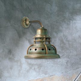 Large Rustic Wall Light