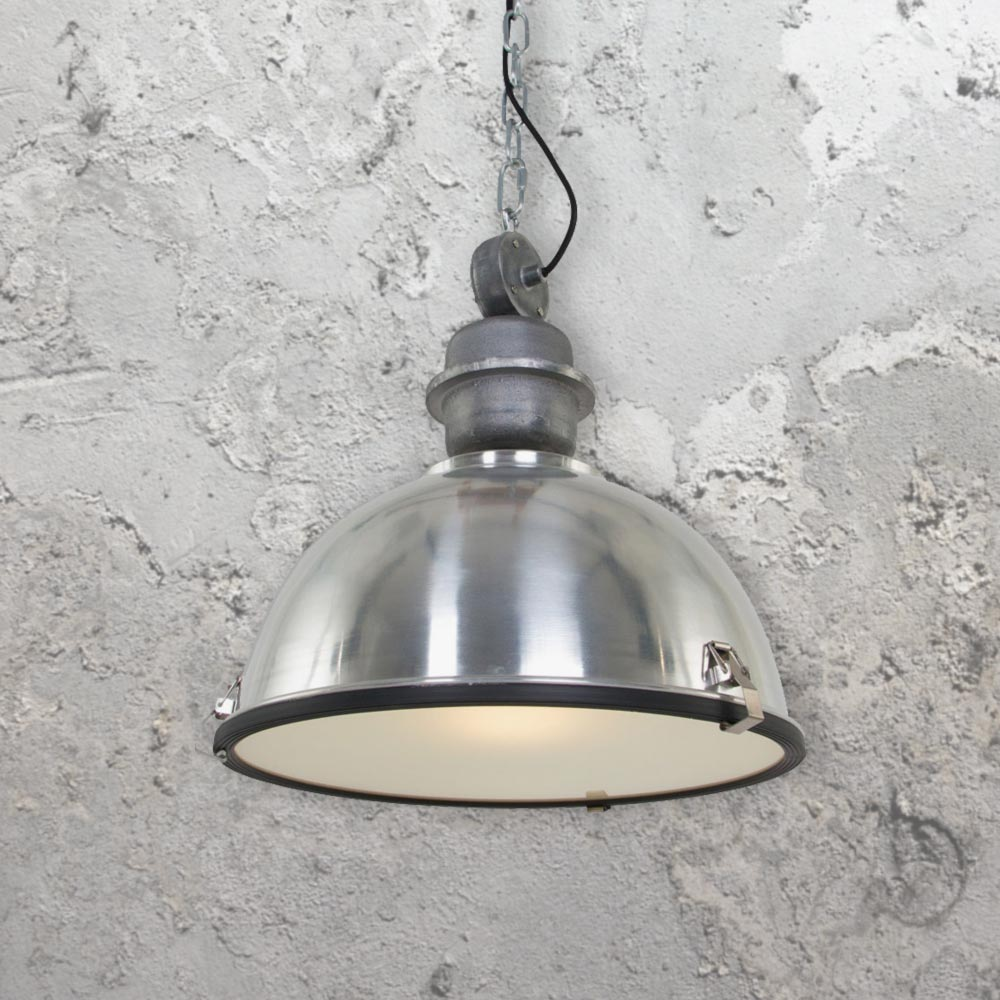 Large Vintage Industrial Pendant Light 35185