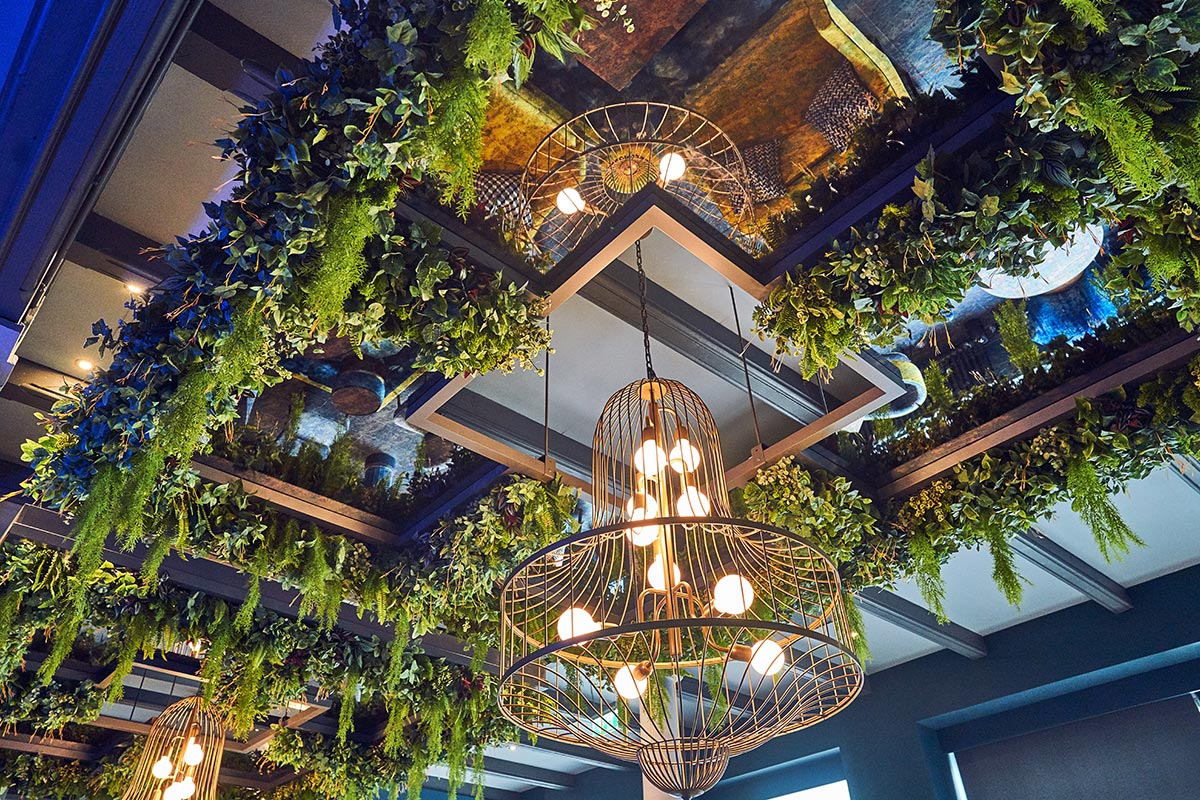 Malmaison Chez Mal Bar, Belfast Birdcage Feature