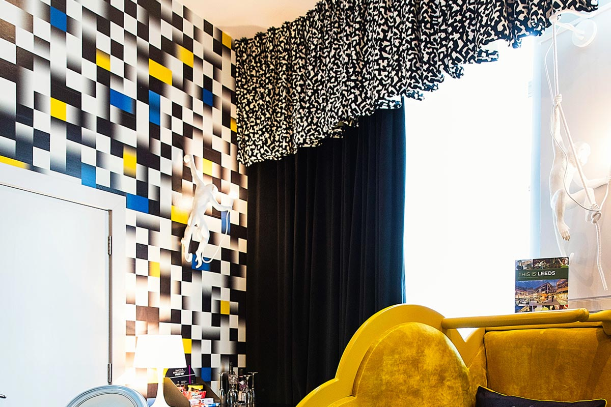 Malmaison Leeds Hotel Decor